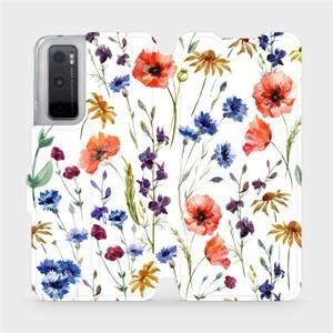 Flip pouzdro Mobiwear na mobil Vivo Y70 - MP04S Luční kvítí