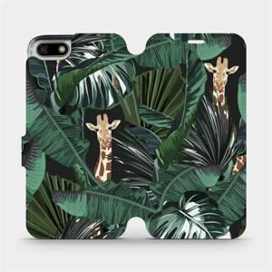 Flip pouzdro Mobiwear na mobil Honor 7S - VP06P Žirafky
