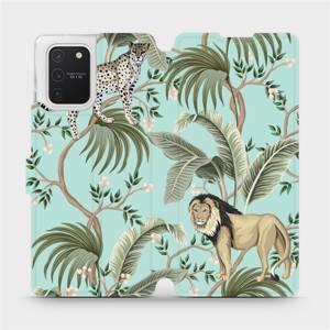 Flip pouzdro Mobiwear na mobil Samsung Galaxy S10 Lite - MP08S Dvě kočičky
