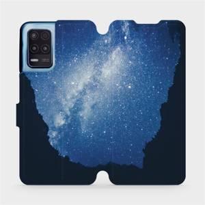 Flip pouzdro Mobiwear na mobil Realme 8 5G - M146P Galaxie