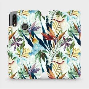 Flipové pouzdro Mobiwear na mobil Huawei P Smart 2019 - M071P Flóra