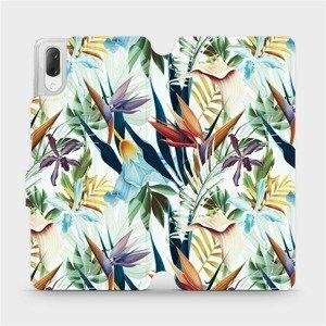 Flipové pouzdro Mobiwear na mobil Sony Xperia L3 - M071P Flóra