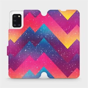 Flipové pouzdro Mobiwear na mobil Samsung Galaxy A31 - V110S Barevné klikyháky