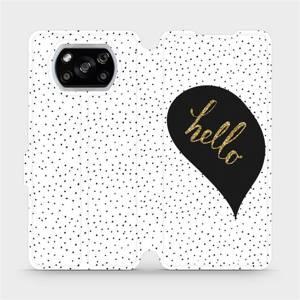 Flipové pouzdro Mobiwear na mobil Xiaomi POCO X3 NFC - M013P Golden hello