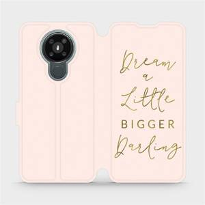 Flipové pouzdro Mobiwear na mobil Nokia 3.4 - M014S Dream a little