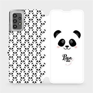 Flip pouzdro Mobiwear na mobil Samsung Galaxy A32 LTE - M030P Panda Amálka