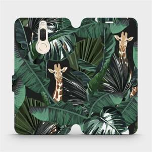 Flip pouzdro Mobiwear na mobil Huawei Mate 10 Lite - VP06P Žirafky