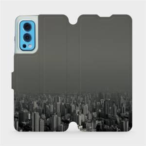 Flip pouzdro Mobiwear na mobil OnePlus Nord 2 5G - V063P Město v šedém hávu