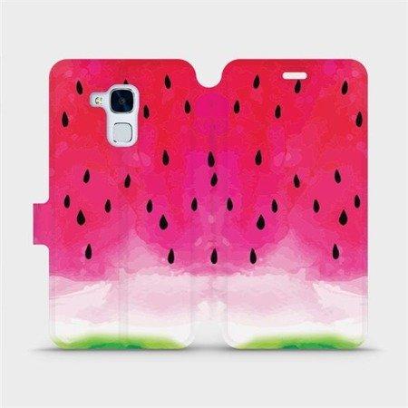 Flipové pouzdro Mobiwear na mobil Honor 7 Lite - V086S Melounek