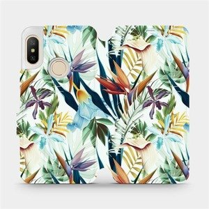 Flipové pouzdro Mobiwear na mobil Xiaomi Mi A2 Lite - M071P Flóra