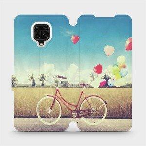 Flipové pouzdro Mobiwear na mobil Xiaomi Redmi Note 9 Pro - M133P Kolo a balónky