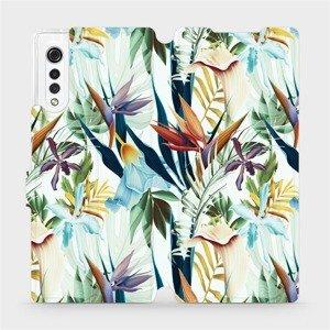 Flipové pouzdro Mobiwear na mobil LG Velvet - M071P Flóra