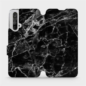 Flipové pouzdro Mobiwear na mobil Realme X3 SuperZoom - V056P Černý mramor