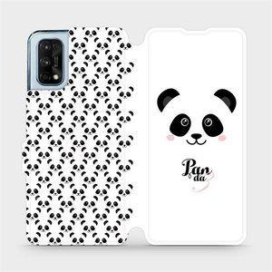 Flipové pouzdro Mobiwear na mobil Realme 7 Pro - M030P Panda Amálka