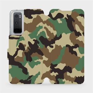 Flipové pouzdro Mobiwear na mobil Vivo Y70 - V111P Maskáče