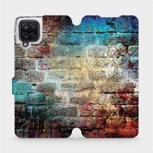 Flipové pouzdro Mobiwear na mobil Samsung Galaxy A12 - V061P Zeď