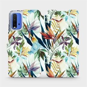Flipové pouzdro Mobiwear na mobil Xiaomi Redmi 9T - M071P Flóra