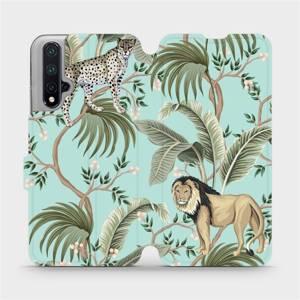 Flip pouzdro Mobiwear na mobil Honor 20 - MP08S Dvě kočičky