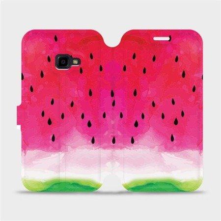 Flipové pouzdro Mobiwear na mobil Samsung Xcover 4 - V086S Melounek