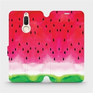 Flipové pouzdro Mobiwear na mobil Huawei Mate 10 Lite - V086S Melounek
