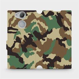 Flipové pouzdro Mobiwear na mobil Sony Xperia XA2 - V111P Maskáče