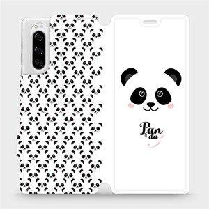 Flipové pouzdro Mobiwear na mobil Sony Xperia 5 - M030P Panda Amálka