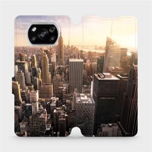 Flipové pouzdro Mobiwear na mobil Xiaomi POCO X3 NFC - M138P New York