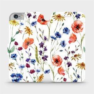 Flip pouzdro Mobiwear na mobil Apple iPhone 6s / iPhone 6 - MP04S Luční kvítí