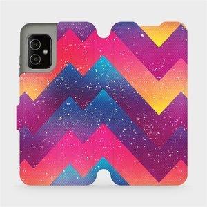 Flip pouzdro Mobiwear na mobil Asus Zenfone 8 - V110S Barevné klikyháky