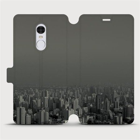 Flipové pouzdro Mobiwear na mobil Xiaomi Redmi Note 4 Global - V063P Město v šedém hávu