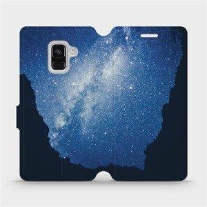 Flipové pouzdro Mobiwear na mobil Samsung Galaxy A8 2018 - M146P Galaxie