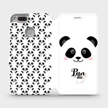 Flipové pouzdro Mobiwear na mobil Xiaomi Mi A1 - M030P Panda Amálka