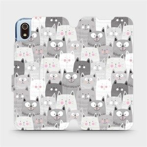 Flipové pouzdro Mobiwear na mobil Xiaomi Redmi 7A - M099P Kočičky