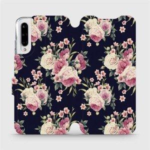 Flipové pouzdro Mobiwear na mobil Xiaomi Mi A3 - V068P Růžičky