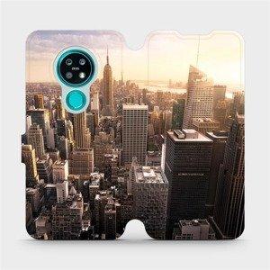 Flipové pouzdro Mobiwear na mobil Nokia 7.2 - M138P New York