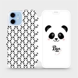 Flipové pouzdro Mobiwear na mobil Apple iPhone 12 mini - M030P Panda Amálka
