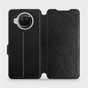 Flipové pouzdro Mobiwear na mobil Xiaomi MI 10T Lite v provedení C_BLS Black&Gray s šedým vnitřkem