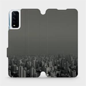 Flipové pouzdro Mobiwear na mobil Vivo Y11S - V063P Město v šedém hávu