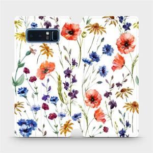 Flip pouzdro Mobiwear na mobil Samsung Galaxy Note 8 - MP04S Luční kvítí