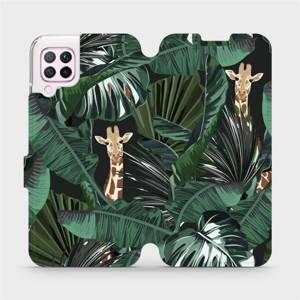Flip pouzdro Mobiwear na mobil Huawei P40 Lite - VP06P Žirafky