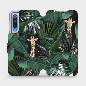 Flip pouzdro Mobiwear na mobil Xiaomi Mi 9 SE - VP06P Žirafky