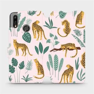 Flip pouzdro Mobiwear na mobil Huawei P Smart 2019 - MP07S Leopardi