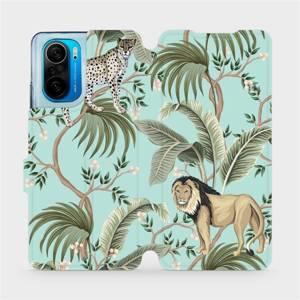 Flip pouzdro Mobiwear na mobil Xiaomi POCO F3 - MP08S Dvě kočičky