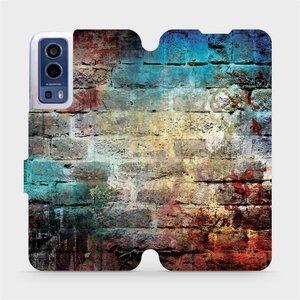 Flip pouzdro Mobiwear na mobil Vivo Y72 5G / Vivo Y52 5G - V061P Zeď