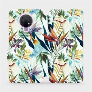 Flip pouzdro Mobiwear na mobil Nokia G10 - M071P Flóra