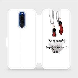 Flipové pouzdro Mobiwear na mobil Xiaomi Redmi 8 - M046P Be yourself