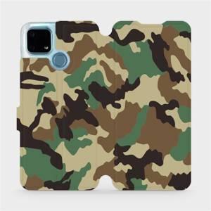 Flip pouzdro Mobiwear na mobil Realme 7i - V111P Maskáče - výprodej