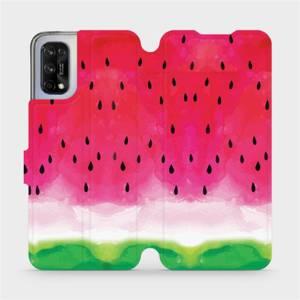 Flipové pouzdro Mobiwear na mobil Realme 7 5G - V086S Melounek