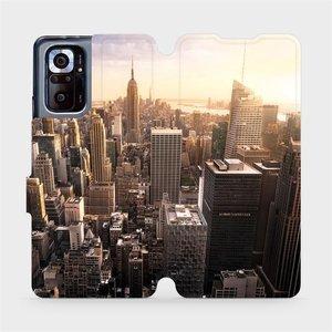 Flipové pouzdro Mobiwear na mobil Xiaomi Redmi Note 10 Pro - M138P New York
