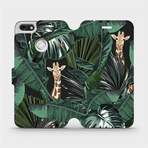 Flip pouzdro Mobiwear na mobil Huawei P9 Lite mini - VP06P Žirafky
